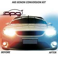 XENON HID 6000K H4 HI/LOW CONVERSION COMMODORE BA BF FG XR6 XR8