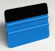 3M Blue Plastic Felt Edge Squeegee Car Vinyl Wrap Application Tool Scraper Decal