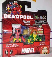 Marvel MiniMates Series 65 Secret Wars Deadpool X-Force Siryn Diamond Figure Set