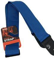 Guitar Strap Blue Polypropylene D'Addario Planet Waves PWS102