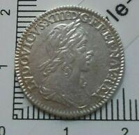 H14101 LOUIS XIII 1/12 ecu warin 1643 a point gradé ttb par CGB monnaie royale
