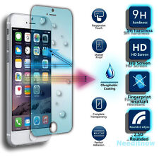 100 Genuine Tempered Glass Film Screen Protector for Apple iPhone 5 5s & 5c