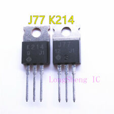 5pcs New original J77 K214 2SJ77 2SK214 audio power amplifier on tube TO-220
