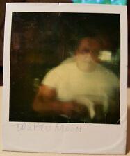 VINTAGE POLAROID SNAPSHOT ARTISTICAN ON MOON WALK VERNACULAR PHOTOGRAPHY PHOTO