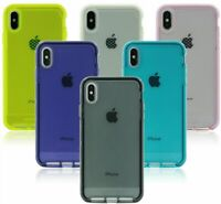 NEW Tech21 Evo Check Case Cover w/ Flex Shock For Apple iPhone XR / XS MAX /X/XS
