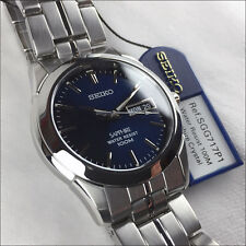 Fantástico Seiko Sapphire SGG717P1 Day-Date Unisex SGG717
