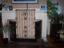 "Custom Designer Fabric Roller Shade Palm Trees British Colonial 27""W"