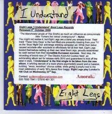 (AQ420) Eight Legs, I Understand - DJ CD