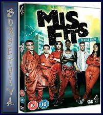 MISFITS - COMPLETE SERIES 4  *BRAND NEW & SEALED DVD **