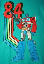 Vintage Transformers Optimus Prime 84 Autobots T-Shirt New Sz Sm Cotton 2012