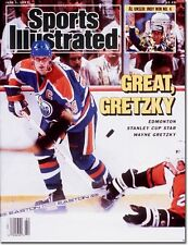 June 1, 1987 Wayne Gretzky Edmonton Oilers and Al Unser Sports Illustrated A