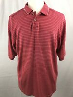 Adidas Mens Polo Shirt Size XL Climalite Red Lake Chesdin Golf Club (A
