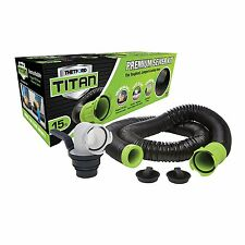 Thetford 17853 Titan 15 foot Crush/Puncture resistant RV Sewer Hose w/ Fittings