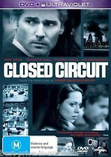 Closed Circuit DVD Movie BRAND NEW SEALED Eric Bana R4