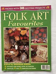 Australian Folk Art & Decorative Painting Magazine Favourites