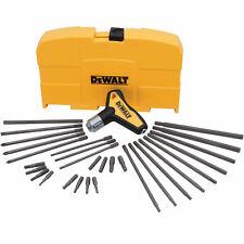 Dewalt DWHT70265 31 Piece Ratcheting T-Handle Hex Key Set