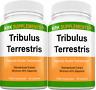 2 Bottles Tribulus Terrestris 1000mg per serving 90 Capsules KRK Supplements