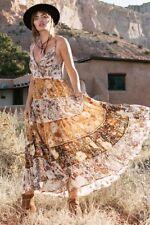 BNWT Spell Designs Desert Daisy Maxi Sundress Mustard - Size L
