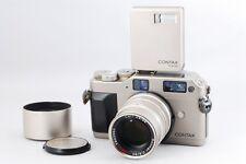 Exc+++++ CONTAX G1 Rangefinder Film Camera w/Sonnar T* 90mm F2.8,TLA140 Jp 142