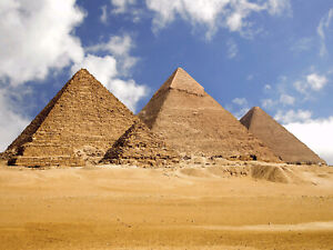 10x8ft Ancient Egyptian Pyramid Landscape Photography Background Vinyl Backdrop