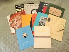 Lot of 10 Art Exhibition Catalogs - Set 1