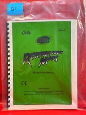 Revenge From Mars Pinball Operations/Service/Repair /Troubleshooting Manual G1