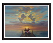 Art Wall Decor Disney Painting HD Print On Canvas Minnie's And Mickey Romantic