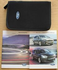 FORD Galaxy S-MAX Manuale Proprietari manuale + wallet VUOTO SERVICE BOOK 2015-2017