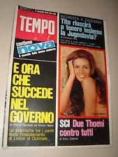 TEMPO=1972/1=EVA CZEMERYS=MANFRED ROMMEL=VILLA BORGHESE ROMA=UNIVERSITA MESSINA=