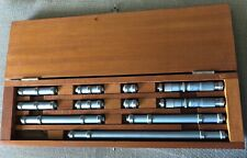 Lufkin End Measuring Rods Amp Micrometers Full Set Boxed Made In Usa