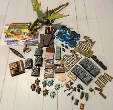 Mega Bloks Dragons: Krystal Wars 9885 Marauder's Cliff w/ Manual and Minifigures