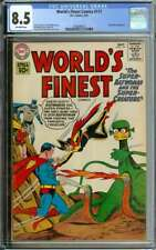 WORLD'S FINEST COMICS #117 CGC 8.5 OW PAGES // CURT SWAN + STAN KAYE COVER