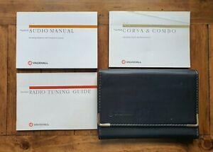 VAUXHALL CORSA B (1997 - 2000) Owners Manual / Handbook + Audio Guide + Wallet