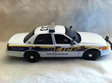 NEW HAVEN CONNETICUT POLICE UT DIECAST 1/18 SCALE MOTORMAX NON WORKING LIGHTS