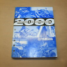 Yamaha 2000 Motorcycle and Atv Technical Update Factory Service Manual Oem