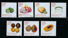NEW 2019 PANAMA 7 STAMPS FROM BOOKLET - NATIVE FRUITS -  MNH - READ PLEASE