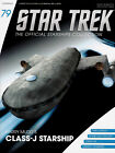 *#79 STAR TREK STARSHIPS COLLECTION HARRY MUDD'S CLASS-J STARSHIP ENTERPRISE