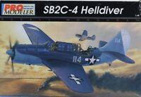 Pro Modeler Revell Monogram 1:48 SB2C-4 Helldiver Plastic Model Kit #85-5935U