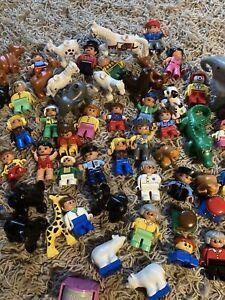 Lego Duplo Konvolut ca. 8kg Bausteine, Autos, Figuren, Bauplatten, Tiere