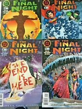 THE FINAL NIGHT. NO'S 1-4. FULL SET LOT. SUPERMAN AND HEROES OF THE DC UNIVERSE.