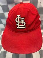 St Louis CARDINALS Baseball MLB New Era Strapback Adjustable Adult Cap Hat