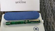 MOLTENI PEN MODELO 88 SPAGHETTI GREEN LT ED FOUNTAIN PEN CYBER MONDAY SALE