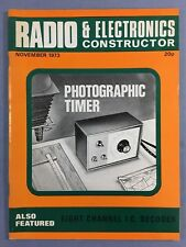 RADIO & ELECTRONICS CONSTRUCTOR - November 1973  - Eight Channel I.C. Decoder