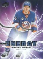 2019-20 Upper Deck Hockey Pure Energy #PE-12 Mathew Barzal
