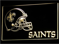 New Custom New Orleans Saints LED Neon Light Signs Bar Man Cave 7 colors u pick
