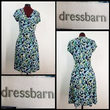 7cc01b4ac96 Dressbarn Woman Casual Formal Career Wrap Dress Size 10 Stretch