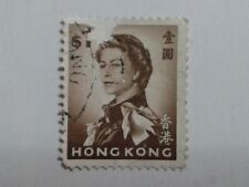 3 x HONG KONG STAMPS - $1 - 5c - 10c