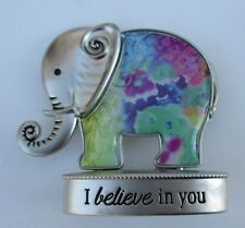K I believe in you Lucky Elephant Figurine miniature Ganz