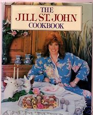 THE JILL ST. JOHN COOKBOOK 1987 1ST FLAT SIGNED HB- VERY GOOD CONDITION