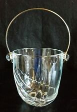 "Vint 1950's ARTE MURANO BOMBONIERA ITALIANA KRISTALL ITALY 5"" GLASS ICE BUCKET"